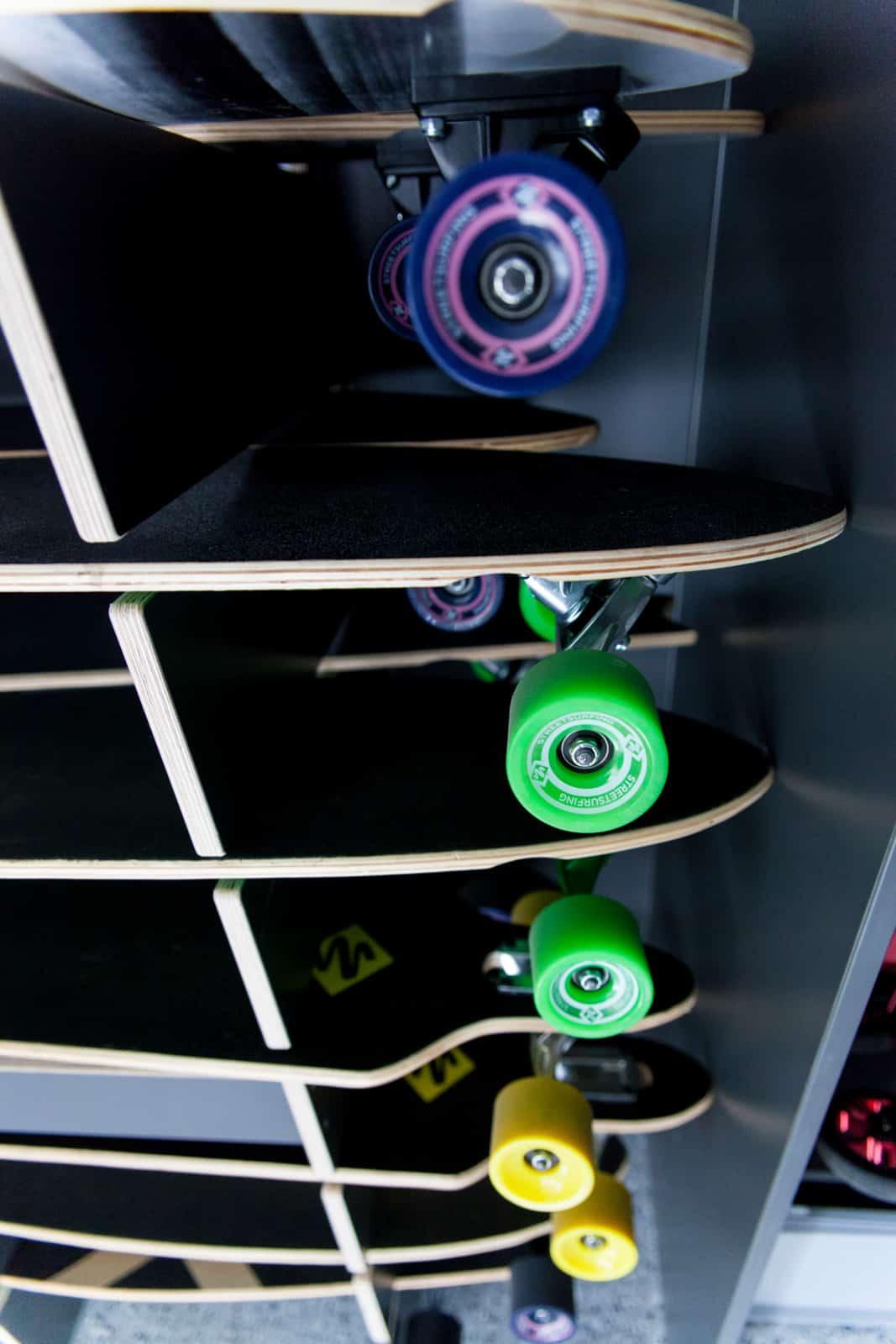 Skateboardrollen
