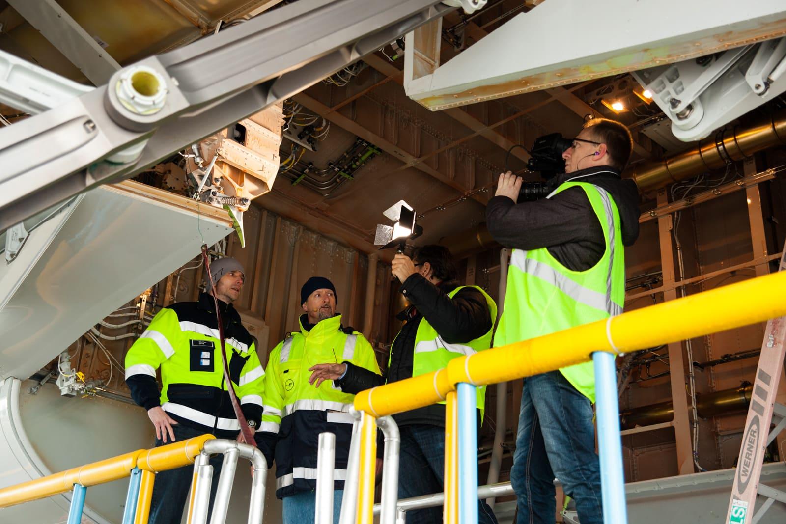 Dreharbeiten für Pilotseye tv in Seattle