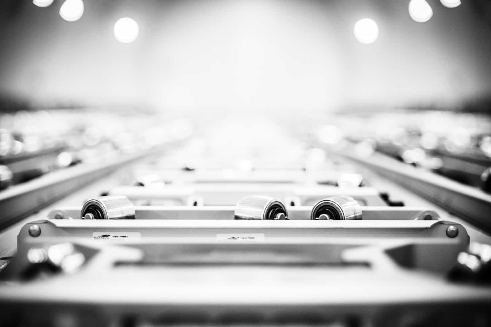 Foto vom Laderaum einer Boeing