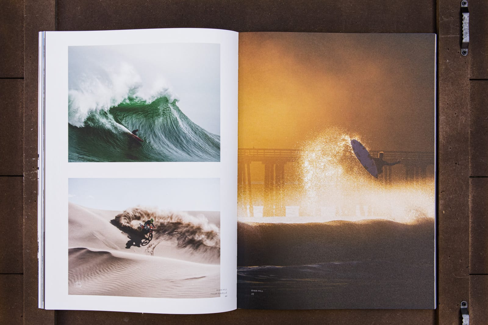 Waves and Woods Surfmagazin Seitenshooting auf Holz